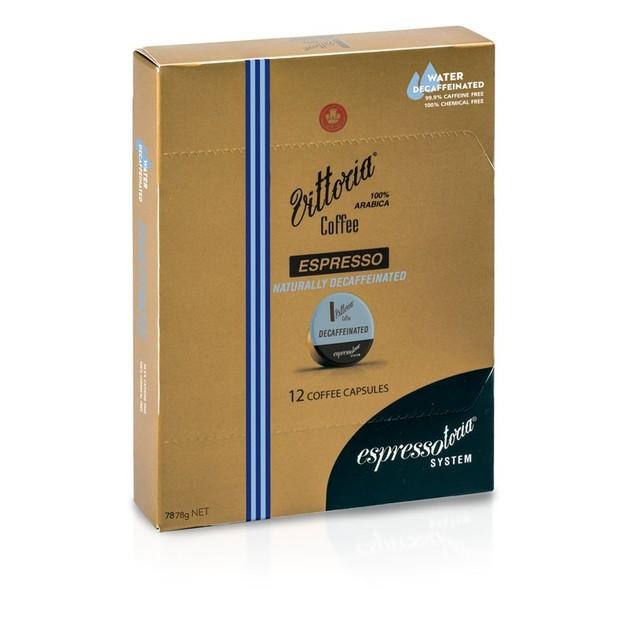 Vittoria Espresso Decaffeinated Coffee Capsules
