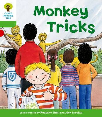 Oxford Reading Tree: Level 2: Patterned Stories: Monkey Tricks by Thelma Page