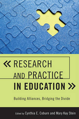 Research and Practice in Education by Cynthia E. Coburn image