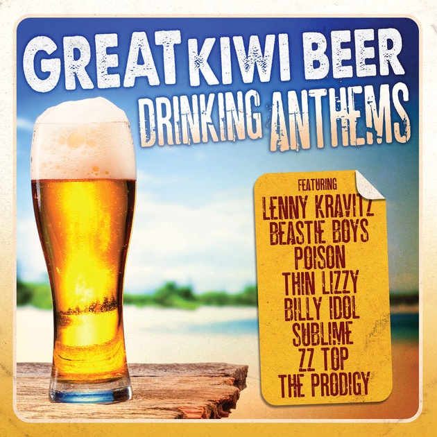 Great Kiwi Beer Drinking Anthems by Various Artists image