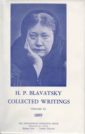 Collected Writings of H. P. Blavatsky, Vol. 11 by H.P. Blavatsky image