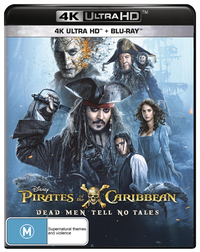Pirates of the Caribbean: Dead Men Tell No Tales on Blu-ray, UHD Blu-ray image