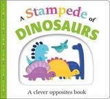 Picture Fit Board Books: A Stampede of Dinosaurs by Roger Priddy