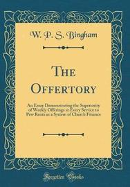 The Offertory by W P S Bingham image