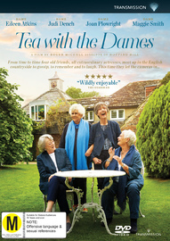 Tea with the Dames on DVD image