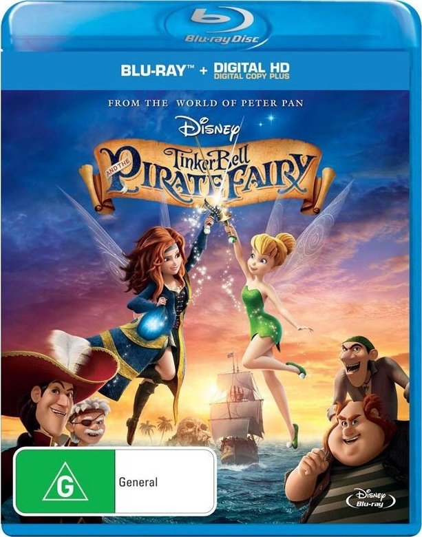 Tinker Bell and the Pirate Fairy on Blu-ray image