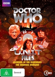 Doctor Who: U.N.I.T. Files on DVD