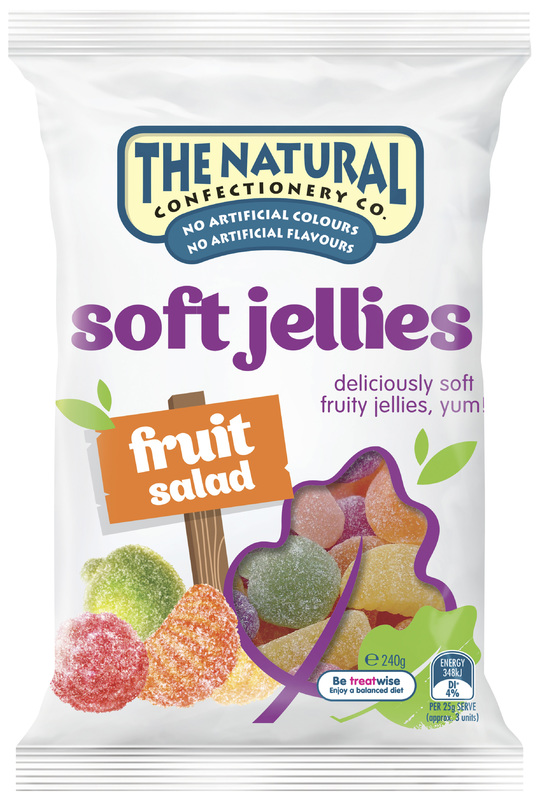 The Natural Confectionery Co Fruit Salad (240g)
