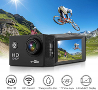 Ape Basics: 1080P Waterproof Action Camera - Black