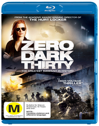 Zero Dark Thirty on Blu-ray