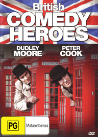 British Comedy Heroes: Peter Cook & Dudley Moore on DVD