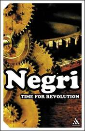 Time for Revolution by Antonio Negri image