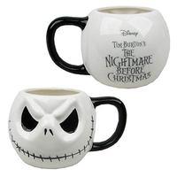 Nightmare Before Christmas Jack Skellington Head Mug image