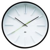 Wall Clock Station Wood - Lime Second Hand