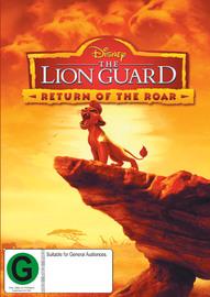 Lion Guard – Return Of The Roar on DVD