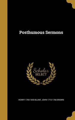 Posthumous Sermons by Henry 1794-1843 Blunt image