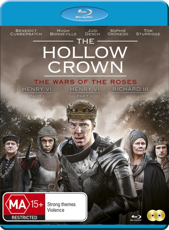The Hollow Crown - The War Of The Roses on Blu-ray