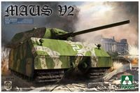Takom 1/35 German Super Heavy Tank Maus V2 Model Kit