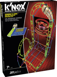 K'Nex: Thrill Rides Cobra's Coil Roller Coaster
