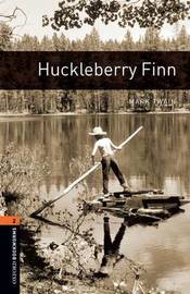 American Oxford Bookworms: Stage 2: Huckleberry Finn by Mark Twain ) image