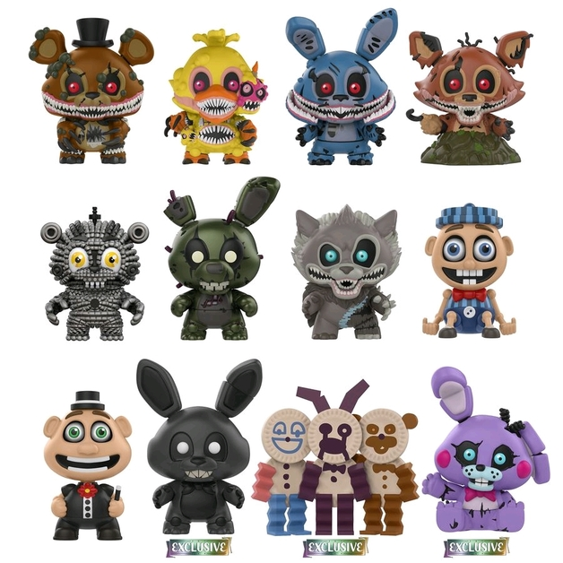 Five Nights at Freddy's: Twisted Ones - Mystery Minis - [GS Ver.] (Blind Box)