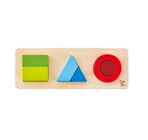 Hape: Geometry Puzzle image