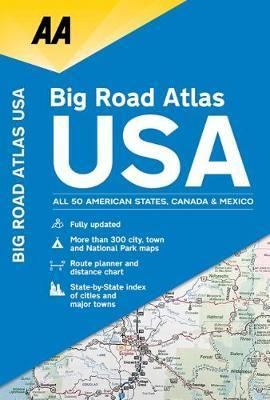 AA Big Road Atlas USA image
