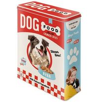 Nostalgic Art: Storage Tin - Dog Food (XL)