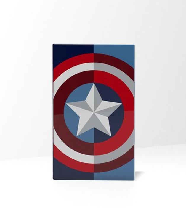 Tribe Power Bank 4.000 mAh - Captain America