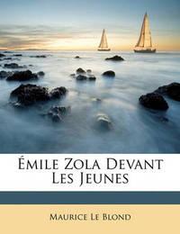 Mile Zola Devant Les Jeunes by Maurice Le Blond image