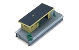 Platform Shelter Kit - 00 Gauge