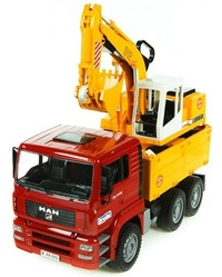 Bruder MAN Truck with Excavator