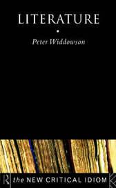 Literature by Peter Widdowson
