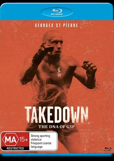 Takedown: The DNA of GSP on Blu-ray