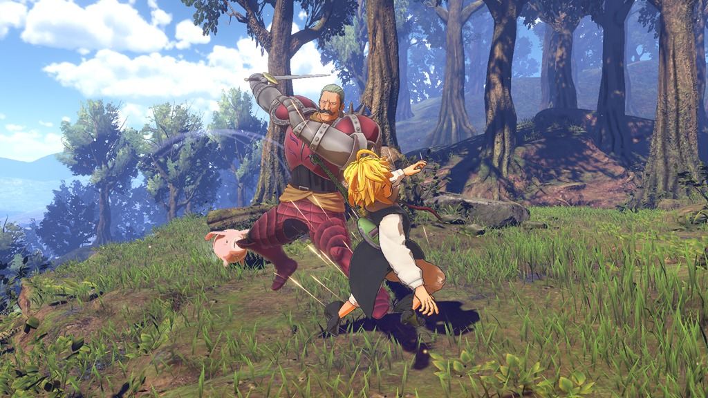 The Seven Deadly Sins: Knights of Britannia for PS4 image