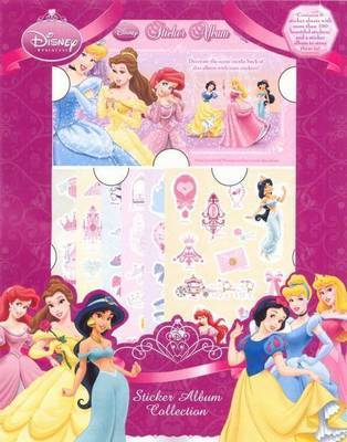 Disney Princess Sticker Album Collection