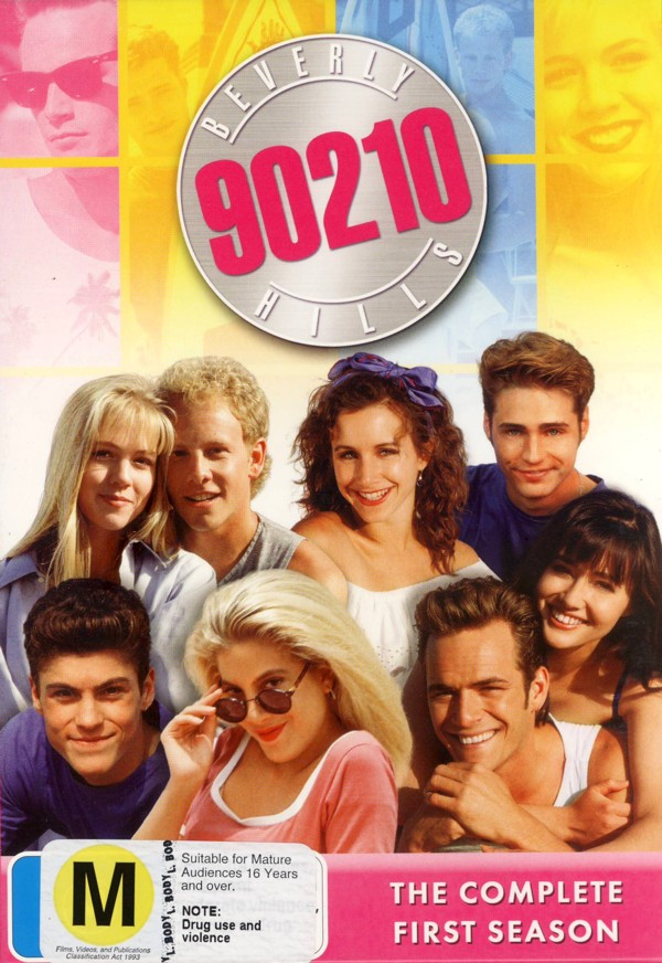 Beverly Hills 90210 - Season 1 (6 Disc Box Set) on DVD image