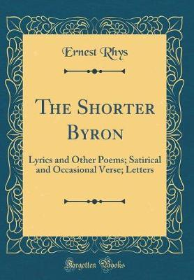 The Shorter Byron by Rhys image