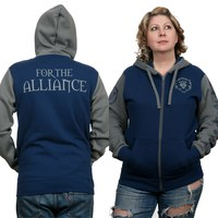 World of Warcraft Alliance Pride Zip-Up Hoodie (L)