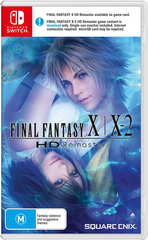 Final Fantasy X / X-2 HD Remaster for Switch