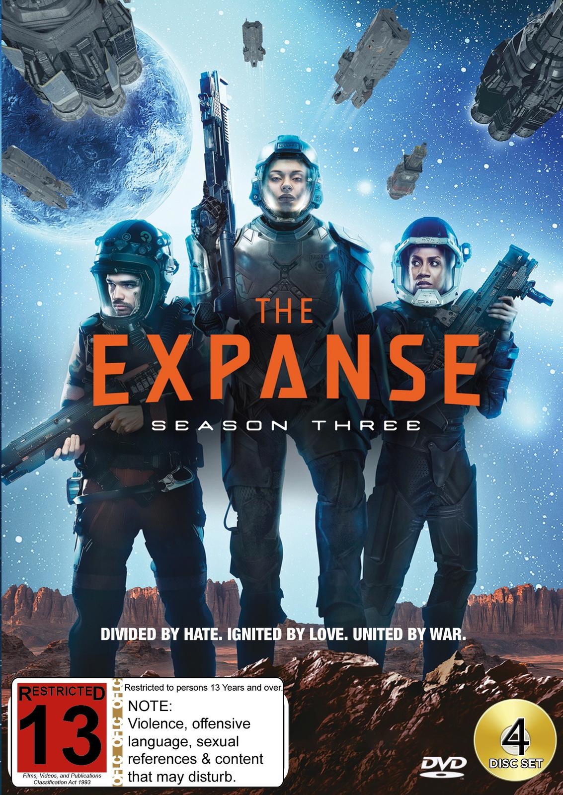 The Expanse - Season 3 on DVD image