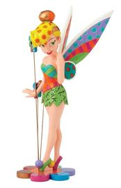 Romero Britto: Tinkerbell Figurine - Large