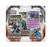 Pokemon TCG Burning Shadows 3 Pack Blister: Cosmog