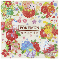 Pokemon Miyabi Series Square Memo - Hanatemari