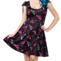 Sourpuss Ray Gun Skater Dress (Medium)