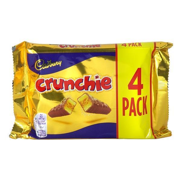 Cadbury Crunchie 4pk