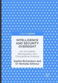 Intelligence and Security Oversight by Sophie Richardson image