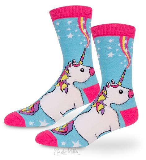 Archie McPhee - Unicorn Socks image