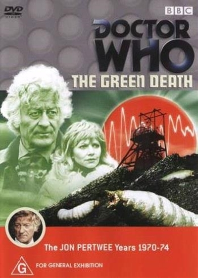 Doctor Who: The Green Death on DVD image