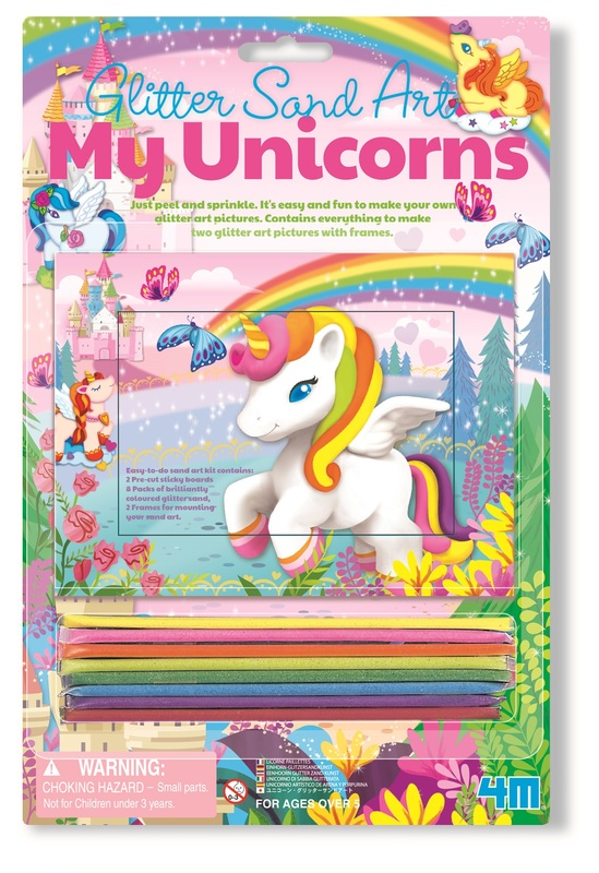 4M Craft: Glitter Sand Art - My Unicorns